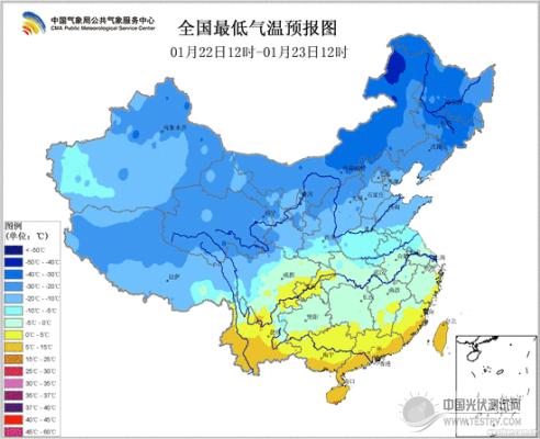 极端低温天气对组件性能的影响